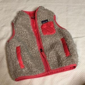 Girls Patagonia Fur Vest